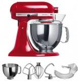 KitchenAid Artisan Küchenmaschine 5KSM150PS KSM150  solo rot EER