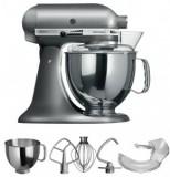 KitchenAid Artisan Küchenmaschine 5KSM150PS KSM150  solo pro metallic EPM