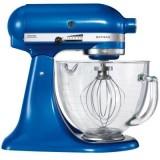 KitchenAid Artisan Küchenmaschine 5KSM156 EEB brilliant blau mit Glasschüssel