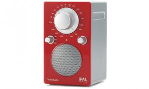 Audio iPAL Monoradio 1091 rot/silber Outdoor-Radio palipalr
